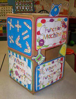 Monster Math Function Machine