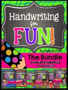 All About Handwriting…