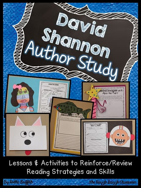 David Shannon Author Study: Lessons and Activities to Review Reading Strategies and Skills