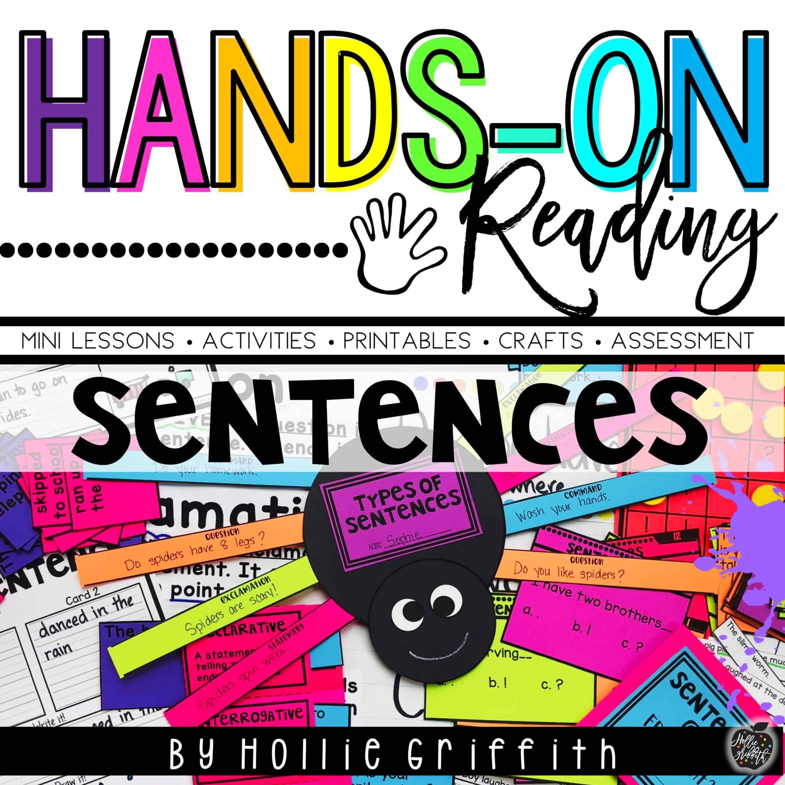 Building Sentences, Expanding Sentences & Types of Sentences